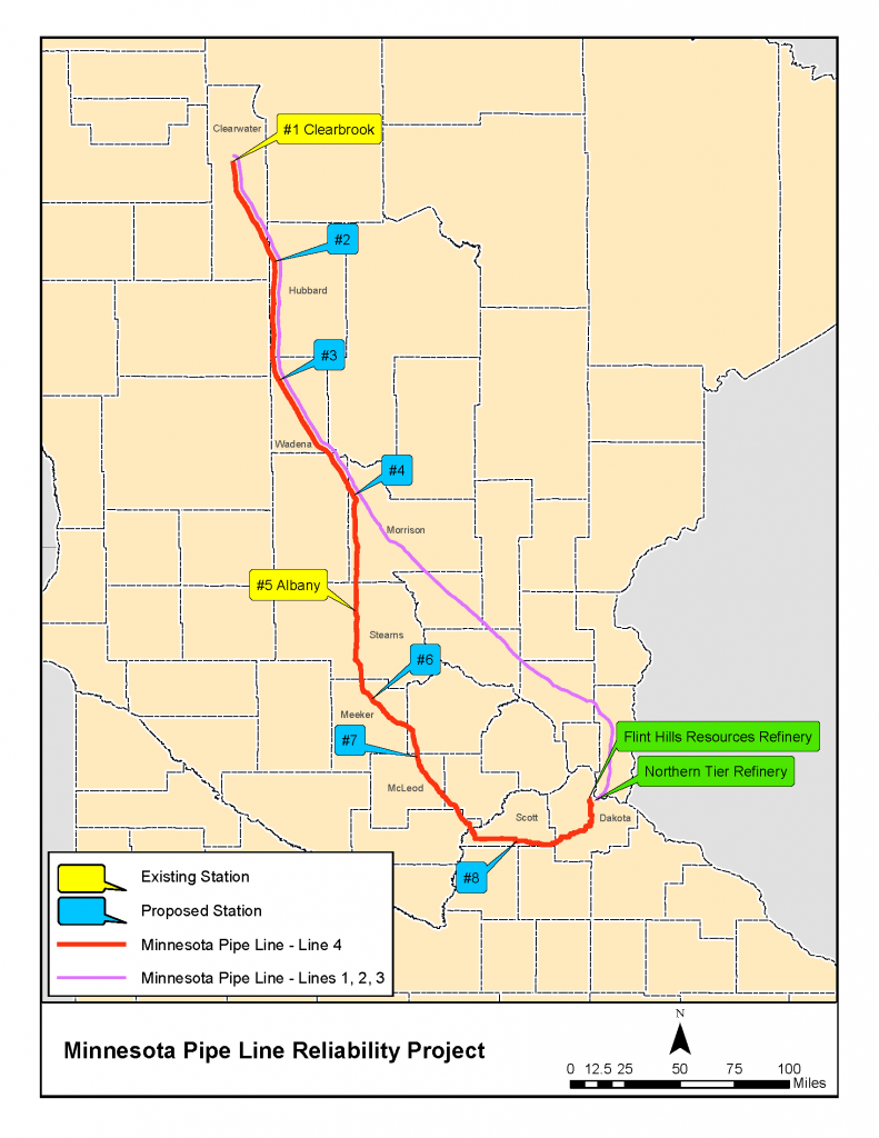 MPL Reliablity Project Line Map